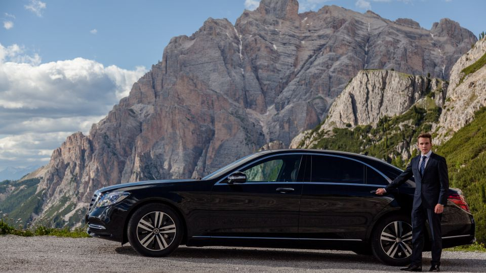 Image: Chauffeur Service in the Dolomites